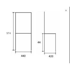 Кухонный стул Алла 01 Белая эмаль/ткань Velvetlux 01