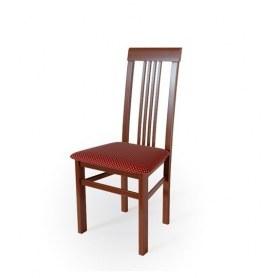 Кухонный стул Алла 01 Орех №2/ткань Жаккард бордо
