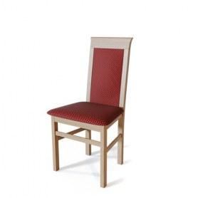 Кухонный стул Алла Дуб/ткань Жаккард бордо