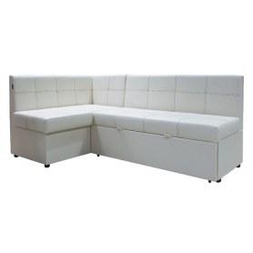 Кухонный угловой диван Злата, манго 009, левый