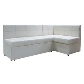 Кухонный угловой диван Злата, манго 009, правый