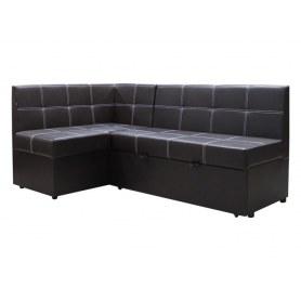 Кухонный угловой диван Злата, манго 001, левый