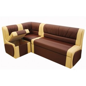 Кухонный угловой диван Квадро 4 с механизмом раскладки