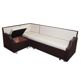 Кухонный угловой диван Квадро 6 с механизмом