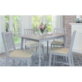 Обеденная группа: стол Пегас, стулья Мисам