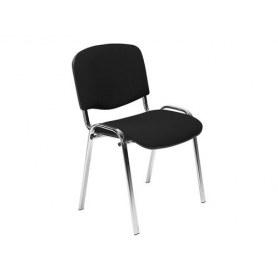 Офисный стул ИЗО хром/черный
