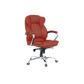 Офисное кресло Dikline CC61 к/з паприка
