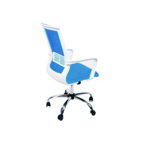 Офисное кресло Оптима Люкс Голубое