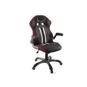 Кресло Dikline KD37 (красная вставка)