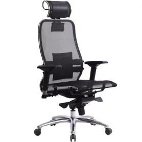 Офисное кресло Samurai S-3.03, черный