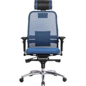 Офисное кресло Samurai S-3.03, синий