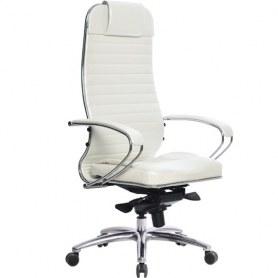 Офисное кресло Samurai KL-1.03, белый лебедь