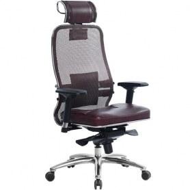 Офисное кресло Samurai SL-3.03, темно-бордовый