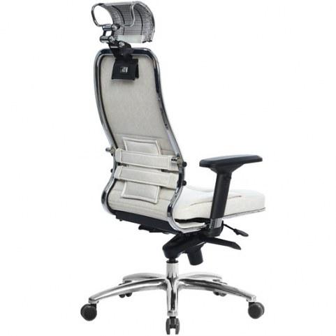 Офисное кресло Samurai KL-3.03, белый лебедь