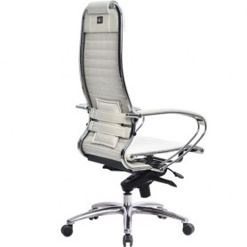 Офисное кресло Samurai K-1.03, белый лебедь
