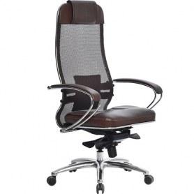 Офисное кресло Samurai SL-1.03, темно-коричневый