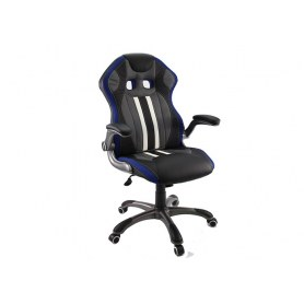 Кресло Dikline KD37 (синяя вставка)