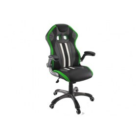 Кресло Dikline KD37 (зеленая вставка)