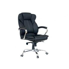 Офисное кресло Dikline CC61 к/з черный