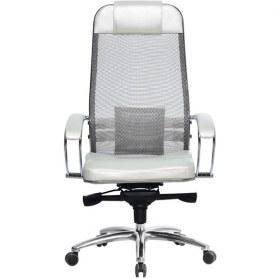 Офисное кресло Samurai SL-1.03, белый лебедь