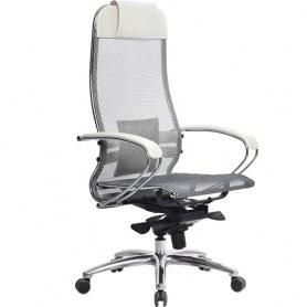 Офисное кресло Samurai S-1.03, белый лебедь