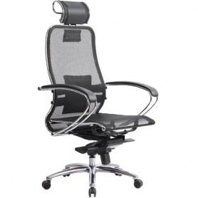 Офисное кресло Samurai S-2.03, черный