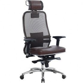 Офисное кресло Samurai SL-3.03, темно-коричневый