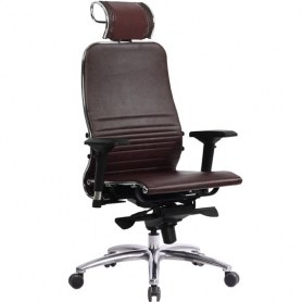 Офисное кресло Samurai K-3.04, темно-бордовый