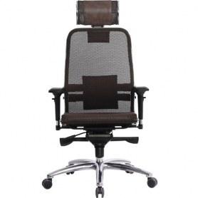 Офисное кресло Samurai S-3.03, темно-коричневый