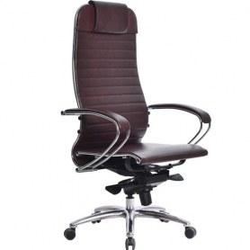 Офисное кресло Samurai K-1.03, темно-бордовый