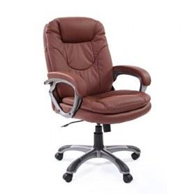 Кресло CHAIRMAN 668 Экокожа премиум коричневая