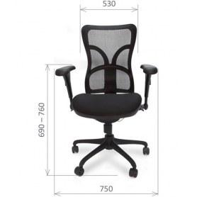 Кресло CHAIRMAN 730 Ткань стандарт черная