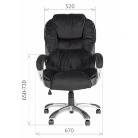 Кресло CHAIRMAN 434 N Velvet black