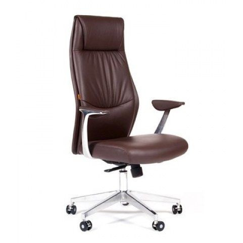 Кресло CHAIRMAN Vista Экокожа премиум коричневая (vista)