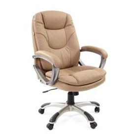 Кресло CHAIRMAN 668 Экокожа премиум бежевая