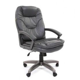 Офисное кресло CHAIRMAN 668 LT Экокожа премиум серая