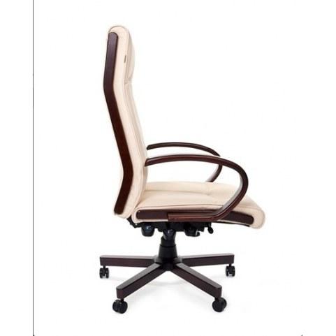 Кресло CHAIRMAN 411 Экокожа премиум бежевая