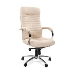 Кресло CHAIRMAN 480 Экокожа Terra 101 бежевый