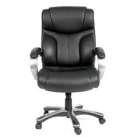 Кресло CHAIRMAN 435 кожа черная