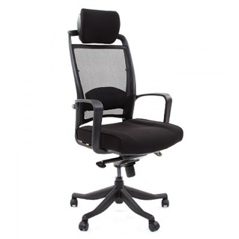 Кресло CHAIRMAN 283 Ткань 26-28 черная