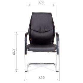Кресло CHAIRMAN Vista V Экокожа премиум черная