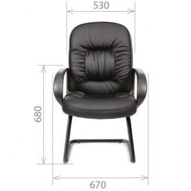 Кресло CHAIRMAN 416V экокожа черная