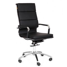 Офисное кресло CHAIRMAN 750 экокожа черная