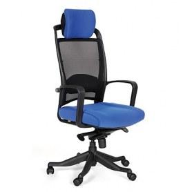 Кресло CHAIRMAN 283 Ткань 26-21 голубая