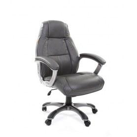 Кресло CHAIRMAN 436 кожа серая