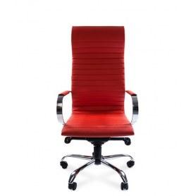 Офисное кресло CHAIRMAN 710, Экопремиум красная