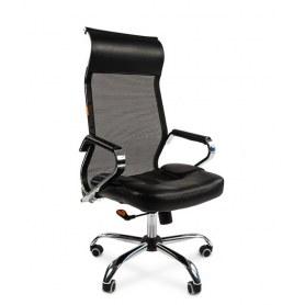 Офисное кресло CHAIRMAN 700 сетка, цвет черный