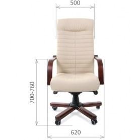 Офисное кресло CHAIRMAN 480 WD, экокожа, цвет бежевый