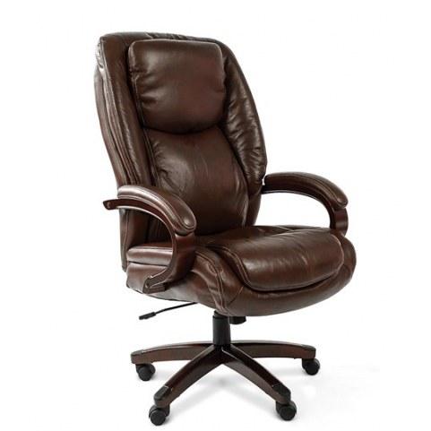 Офисное кресло CHAIRMAN 408, коричневый