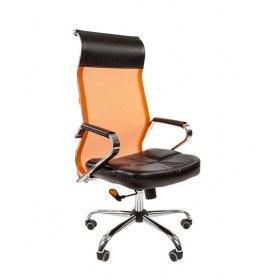 Офисное кресло CHAIRMAN 700 сетка, цвет оранжевый